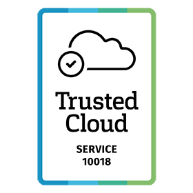 logo trusted cloud service